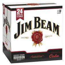 JIM BEAM&COLA CN 4.8% 24PK 375ML