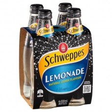 SCHWEPPES LEMONADE 4 PACK x 6 x300ML