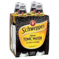 SCHW TONIC WATER 4 PACK X6 X 300ML