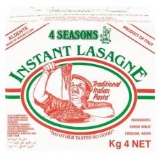 Lasagna Instant Pasta Sheets 4kg
