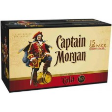 CAPTAIN MORGAN & COLA CANS 6% 30PK
