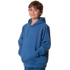 Kid's Unisex Close Front Fleecy Hoodie