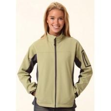 Ladies Softshell Contrast Jacket