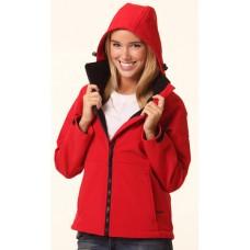 Ladies Softshell Hood Jacket