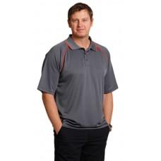 Men's CoolDry® Raglan Short Sleeve Contrast Polo