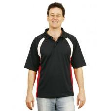 Men's CoolDry® Tri-colour Contrast Short Sleeve Polo
