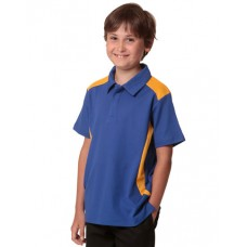 Kids' TrueDry® Contrast Short Sleeve Polo
