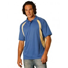 Men's CoolDry® Mesh Contrast Short Sleeve Polo