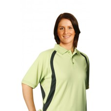 Ladies' CoolDry® Mesh Contrast Short Sleeve Polo