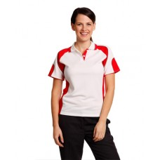 Ladies' CoolDry® Contrast Short Sleeve Polo with Sleeve Panels
