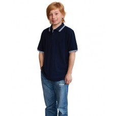 Kids' TrueDry® Pique Short Sleeve Polo