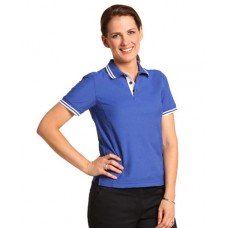 Ladies' TrueDry® Pique Short Sleeve Polo