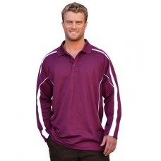 Men's TrueDry® Fashion Long sleeve Polo