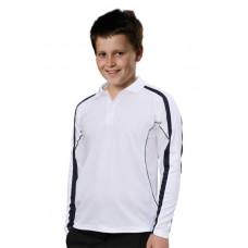 Kids' TrueDry® Fashion Long sleeve Polo