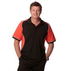 Men's TrueDry® Tri-colour Short Sleeve Pique Polo