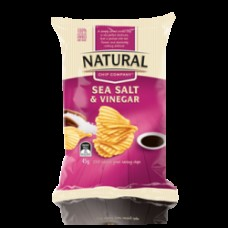 Nat Chip Co S/Salt&Vin 45gm x 18