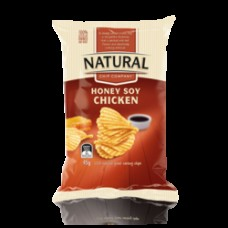 Nat Chip Co Hny Soy Chic 45gm x 18