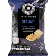 Red Rock Deli Sea Salt 45gm x 18