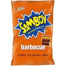 SAMBOY CHIPS BBQ BLAST 45G X 18