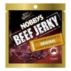 NOBBYS BEEF JERKY ORIGINAL 25GM