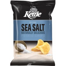 Kettle Nat Sea Salt 45gm x 18