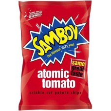 Samboy Chips Tomato 45gm x 18