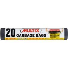Garbage Bags Multix Drw/T E/Wd Rl20