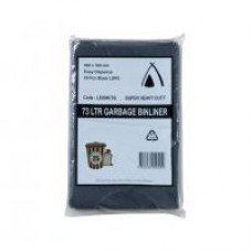 Garbage Bags Heavy Duty 73Ltr 25pk