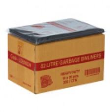 GARBAGE BAGS HEAVY DUTY 82LTR 25PK