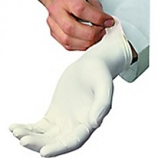 Latex Gloves Medium Powder Free 100's