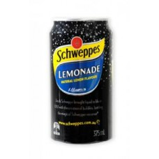 Schw Lemonade Cans 375ml