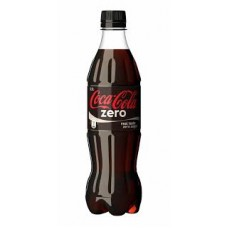 Coca Cola Zero 600ml Plastic Bottles