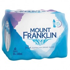 Mt Franklin Sring Water 500ML