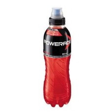 Powerade Berry Ice Sippa Cap 600mlx12