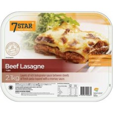 7 Star Beef Lasagna 2.1kg