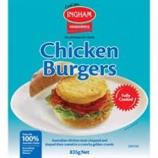 Frozen Chicken Burgers 835gm