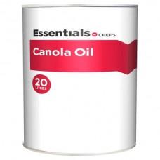 OIL CANOLA 20L CHEFS ESSL
