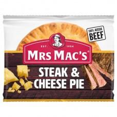 MRS MACS PIE STEAK & CHSE 175GM pack size: 12