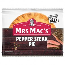 MRS MACS PIE PEPPER STEAK 175GM pack size:12