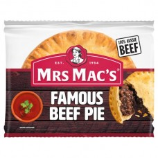 MRS MACS FAMOUS BEEF PIES 175GM pack size: 24