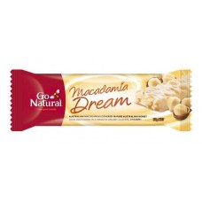 Go Natural Macadamia Dream Bar 50gmx16