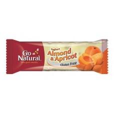 Go Natural Yoghurt Almond & Apricot 40gmx16