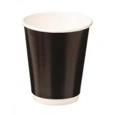 Cup Coffee Triple/Wall Black 280ml 25s x20