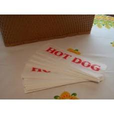 Bags Printed Hot Dog Greas/Res 1000s