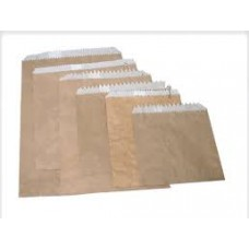 Bags G/Proof Brown 1 Sqr C/A 500 (Pie Size)
