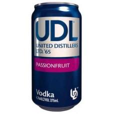 UDL Vdk P/Fruit 4% Can 375ml