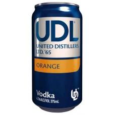UDL Vdk Orange 4% Can 375ml
