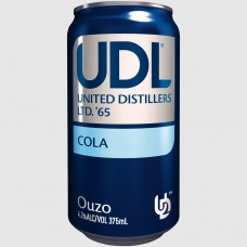 UDL OUZO & COLA 4% CAN 375ML