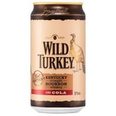 Wild Turkey&Cola 4.8%Cans 375mlx24