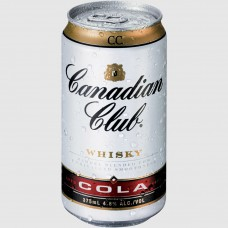 CAN CLUB & COLA CAN 375ML X24